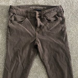 American Eagle Sateen Super Super Stretch Jegging